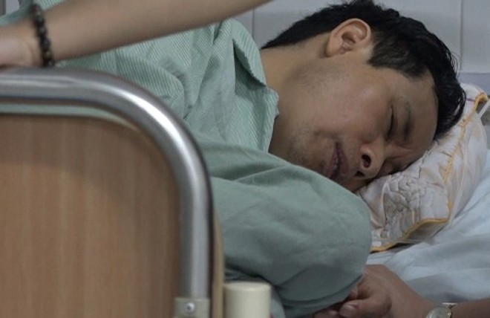 Đối tượng Đông đang được theo dõi sức khỏe tại bệnh viện
