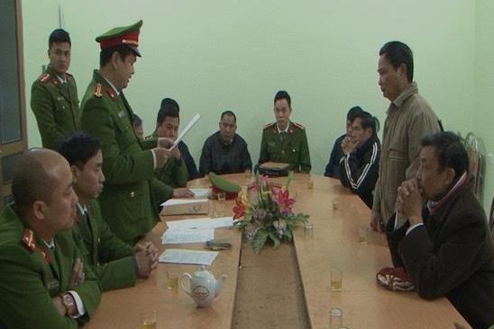 CQĐT thực hiện biện pháp tố tụng đối với cán bộ xã, thôn thuộc huyện Ý Yên