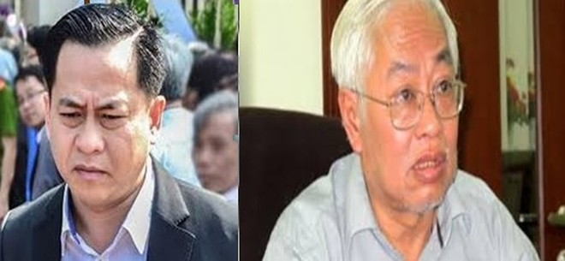 Phan Văn Anh Vũ và Trần Phương Bình - 2 bị can chính trong vụ án