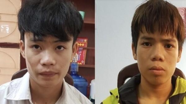 Hai tên cướp tài sản của lái xe taxi bị bắt sau 3 ngày lẩn trốn