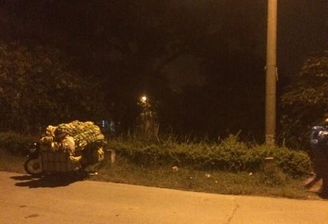 Khu vực xảy ra vụ cướp rạng sáng 1-10