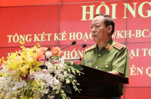 Thượng tướng Lê Quý Vương giao nhiệm vụ cho các đơn vị, địa phương thực hiện hiệu quả Đề án 2