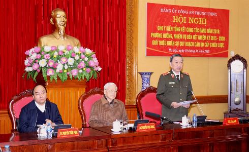 Bộ trưởng Tô Lâm phát biểu tại Hội nghị