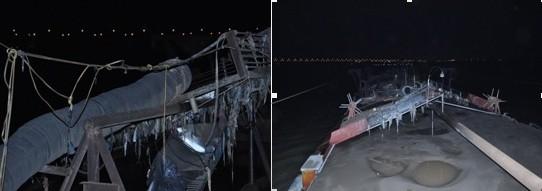 Phương tiện hút trộm cát bị bắt giữ đêm 30-12