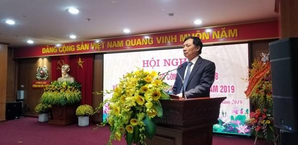 Đồng chí Nguyễn Văn Nam - Bí thư Quận ủy Hai Bà Trưng đánh giá cao những nỗ lực, đóng góp của CAQ đối với công tác phát triển kinh tế - xã hội trên địa bàn