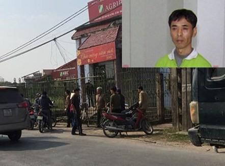 Đối tượng Cẩn và khu vực xảy ra vụ cướp