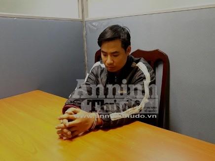 Bị can Nguyễn Trọng Trình tại CQĐT CATP Hà Nội, chiều 19-3