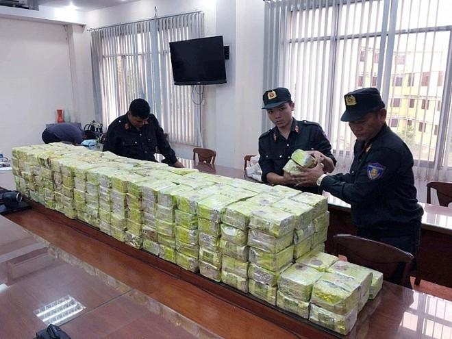 Số ma túy bị thu giữ chiều 20-3, tại TP. HCM