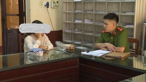 Cơ quan Công an làm việc với Trần Thị Huyền Trang