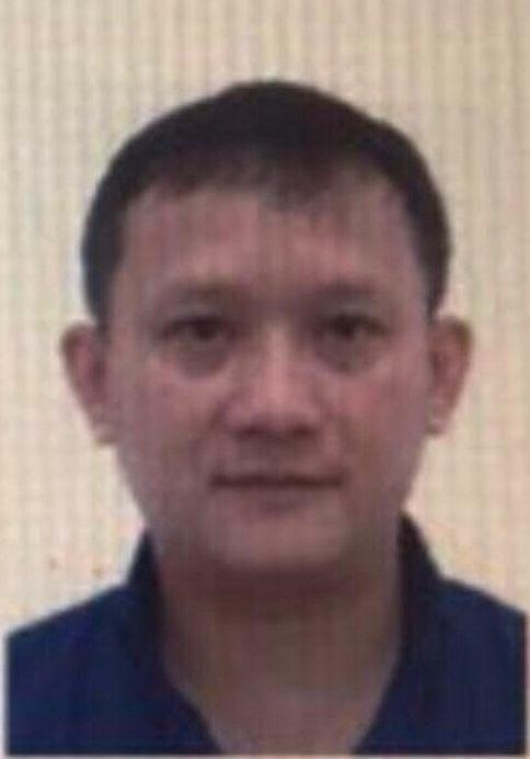 Bị can Bùi Quang Huy