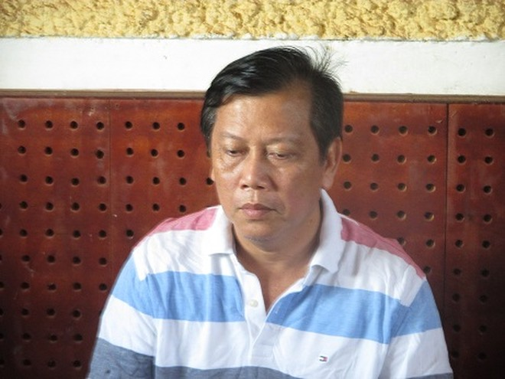 Bị can Trịnh Sướng (Chủ tịch HĐTV kiêm Giám đốc Công ty TNHH Mỹ Hưng, huyện Mỹ Xuyên, tỉnh Sóc Trăng)