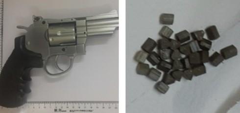 Số súng, đạn bị cơ quan chức năng thu giữ