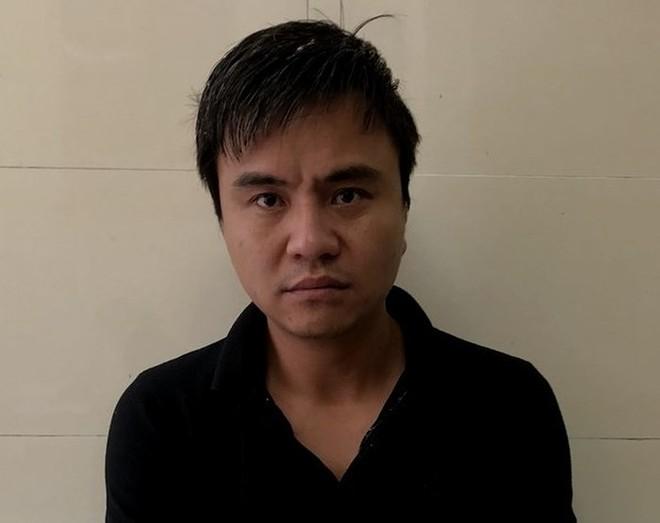 Đối tượng Khánh thời điểm bị bắt, ngày 5-5-2019