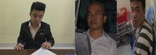 Nguyễn Thái Lực (ngoài cùng bên trái), cùng 2 ông anh Luyện, Lĩnh