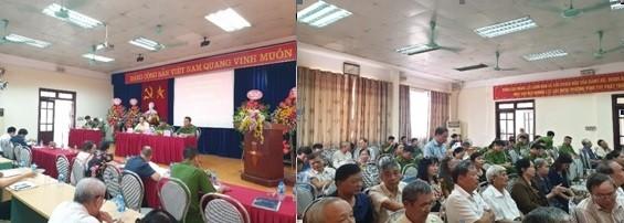 """Hội nghị """"Công an lắng nghe ý kiến nhân dân"""" của CAP Vĩnh Tuy có điểm nhấn thú vị..."""
