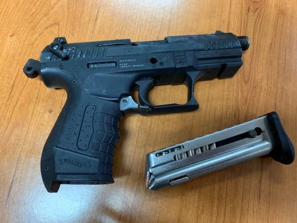 """Khẩu súng đối tượng Thịnh dùng để """"dọa"""" nhóm người đòi nợ"""