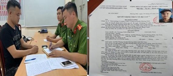 Công an quận Đống Đa vượt gần 2.000 cây số truy bắt đối tượng trốn truy nã Trương Viết Công Hoàn