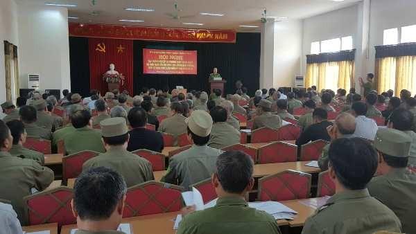 Các khóa, đợt tập huấn luôn thu hút đông sự tham gia của các đội viên Bảo vệ dân phố quận Hoàng Mai