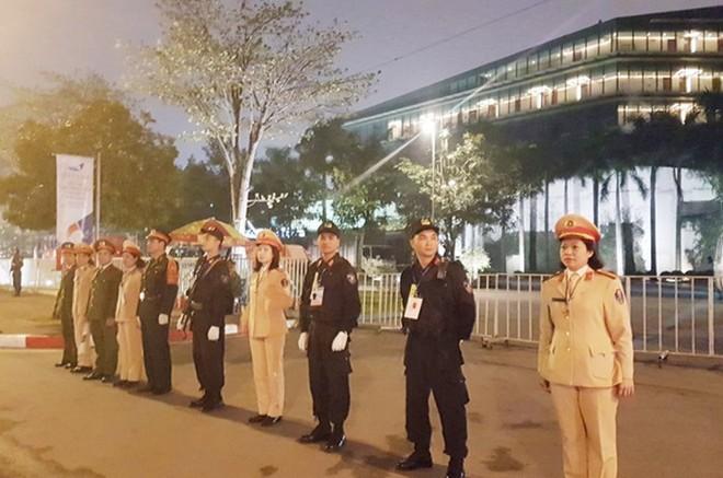 Lực lượng công an và quân đội phối hợp bảo vệ Hội nghị thượng đỉnh Mỹ - Triều Tiên lần 2