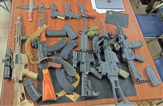 Số súng...đồ chơi nguy hiểm bị cơ quan Công an thu giữ