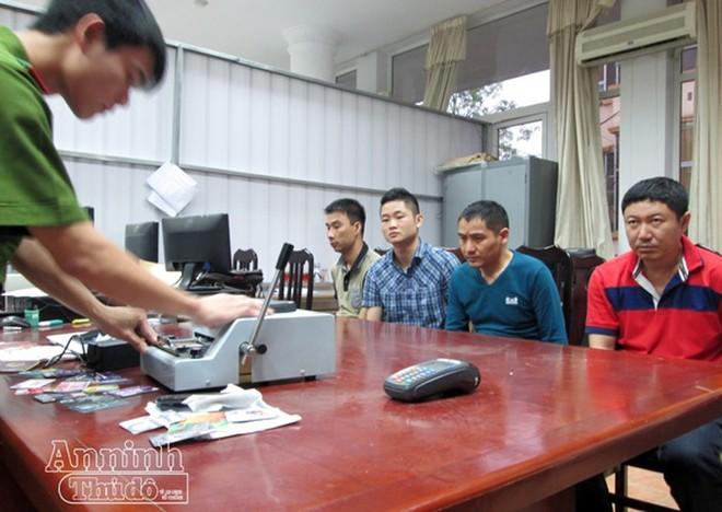 Một nhóm đối tượng người nước ngoài vi phạm pháp luật, bị Công an Hà Nội xử lý