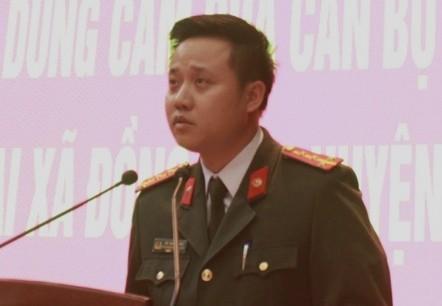 Đại úy Bùi Mạnh Hùng, Bí thư Đoàn Thanh niên Công an thành phố