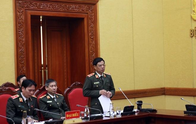 Tại hội nghị, Trung tướng Đoàn Duy Khương - Giám đốc CATP Hà Nội đã