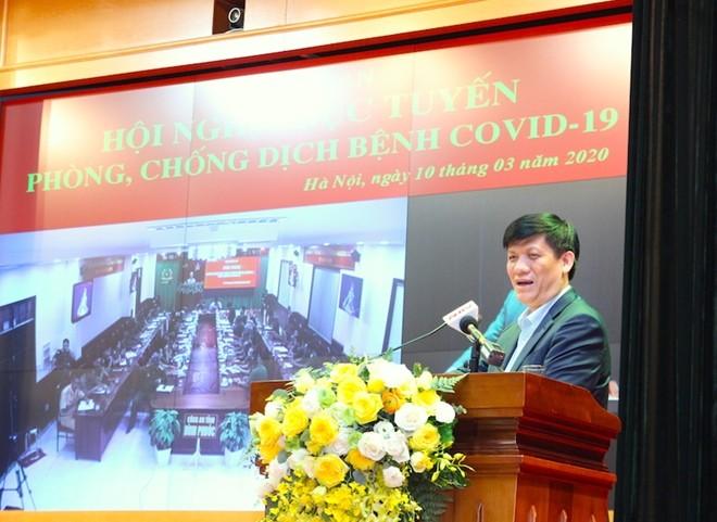 Đồng chí Nguyễn Thanh Long, Thứ trưởng Bộ Y tế, Phó Trưởng Ban Chỉ đạo (BCĐ) Quốc gia phòng, chống dịch bệnh Covid-19 đánh giá cao nỗ lực, đóng góp của lực lượng CAND