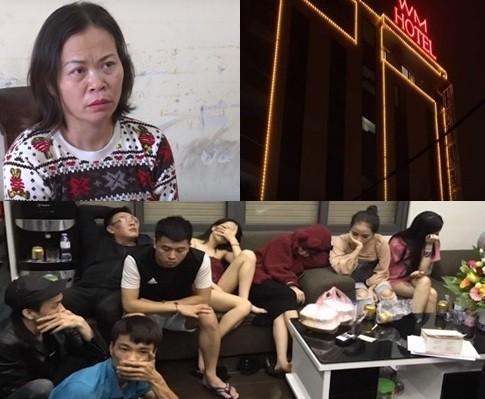 """Nguyễn Thị Nguyên và đám khách """"bay lắc"""" bị bắt quả tang"""