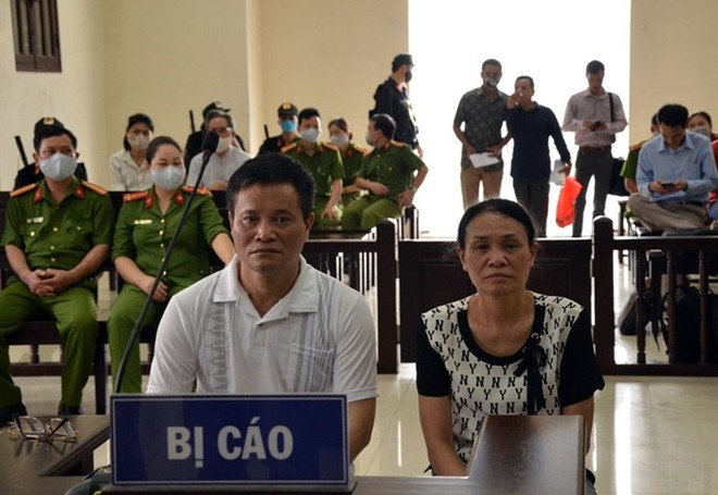 HĐXX phúc thẩm đã tuyên hủy án sơ thẩm để điều tra lại, đối với vụ án liên quan đến vợ chồng bị cáo Lâm, Quyết