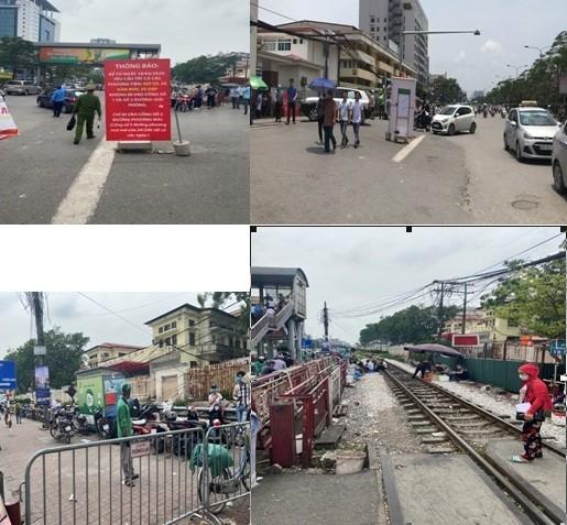 """Trật tự giao thông - đô thị trước cổng Bệnh viện Bạch Mai đã và đang là vấn đề """"nóng"""""""