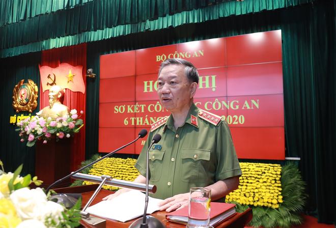 Đại tướng - Bộ trưởng Tô Lâm phát biểu bế mạc hội nghị