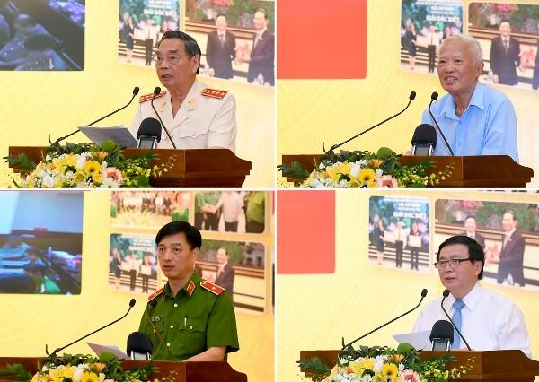 Các đại biểu phát biểu tham luận tại hội thảo