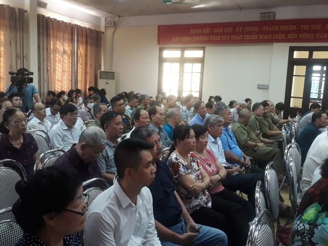 Đông đảo hội viên các ngành, đoàn thể và cán bộ cơ sở tham dự hội nghị