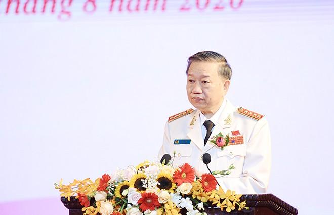 Đại tướng - Bộ trưởng Tô Lâm phát biểu khai mạc Đại hội