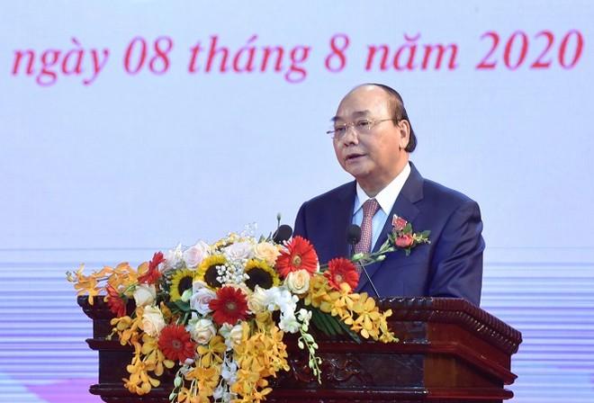 Thủ tướng Nguyễn Xuân Phúc phát biểu tại Đại hội