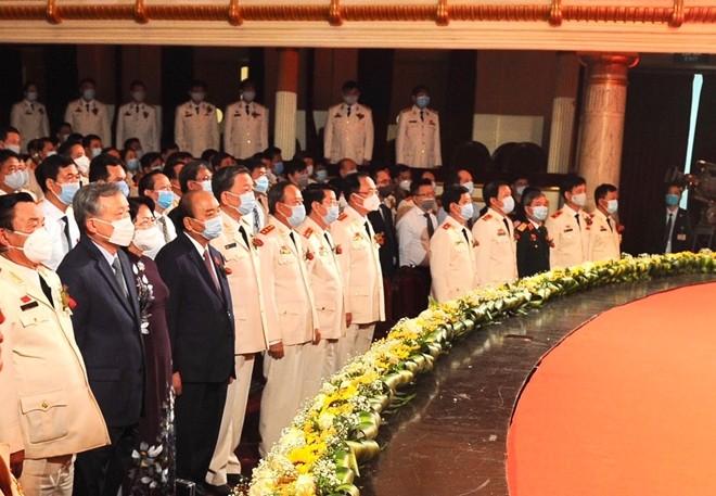 Tại Đại hội, các đại biểu đã nghe Lời huấn thị của Chủ tịch Hồ Chí Minh về thi đua yêu nước