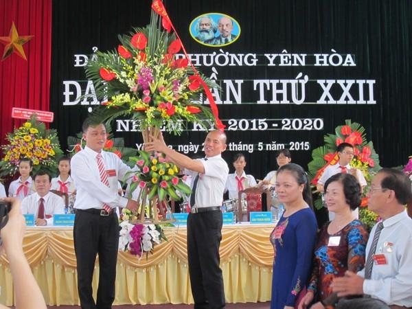 Xây dựng phường Yên Hòa phát triển toàn diện, bền vững ảnh 2