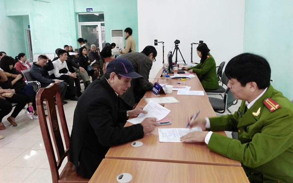 CAQ Bắc Từ Liêm khai trương trụ sở cấp Căn cước công dân