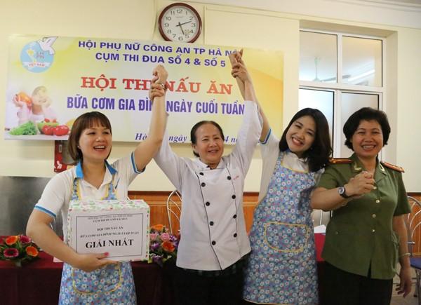 Sôi nổi hội thi nấu ăn phụ nữ cụm thi đua số 4 và 5 CATP. Hà Nội ảnh 7