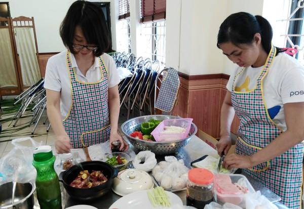 Sôi nổi hội thi nấu ăn phụ nữ cụm thi đua số 4 và 5 CATP. Hà Nội ảnh 4