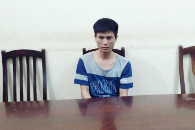 Nguyễn Văn Tuân tại cơ quan công an