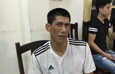 Nguyễn Thành Nam tại cơ quan công an