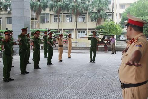 Buổi tập huấn nâng cao kỹ năng cho các CBCS làm nhiệm vụ trực tiếp