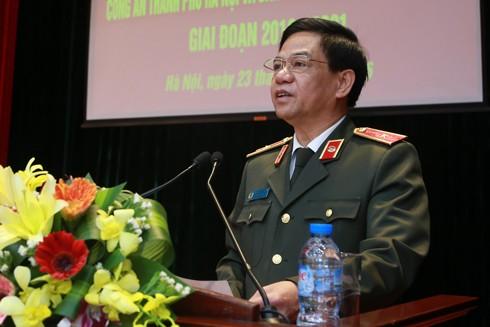 Công an Hà Nội và Ban Tuyên giáo Thành ủy ký kết Chương trình phối hợp ảnh 1