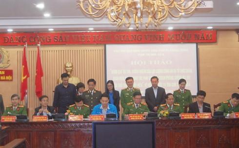 8 tỉnh, thành phố đồng bằng sông Hồng thuộc cụm thi đua số 4 ký giao ước thi đua