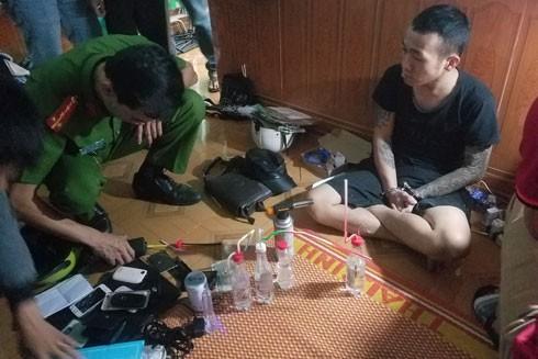 Một điểm sử dụng ma túy bị lực lượng CATP Hà Nội triệt xóa trong thời gian vừa qua