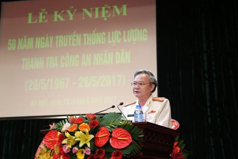 Đại tá Nguyễn Hữu Cự, nguyên Chánh thanh tra CATP nhớ lại 21 năm gắn bó với công tác thanh tra