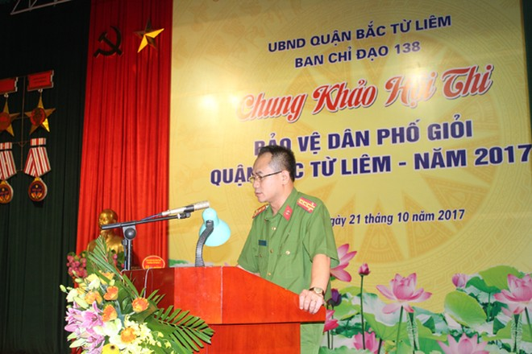 Đại tá Nguyễn Thành Tùng bế mạc hội thi