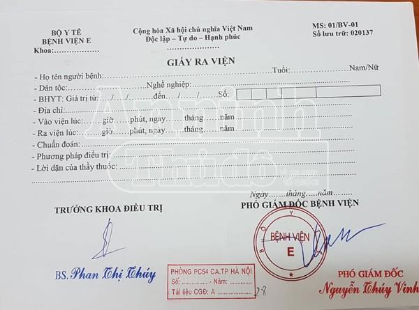 Hàng nghìn giấy khám sức khỏe giả đã bị lực lượng CATP Hà Nội phát hiện thu giữ